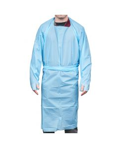 XRGOWNBL2 | Blue Surgical Gown Type 2